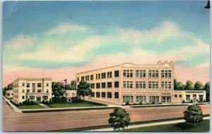 Kansas City, Missouri Postcard NAZARENE PUBLISHING HOUSE Curteich Linen c1950s