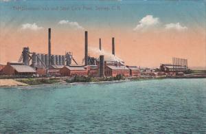 Dominion Iron & Stell Co.'s Plant , Sydney , Nova Scotia , C.B.  , Canada , P...