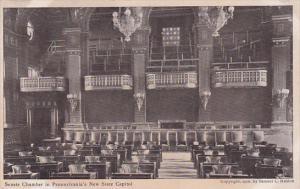 Senate Chamber In Pennsylvania's New State Capitol, Pennsylvania, 1906