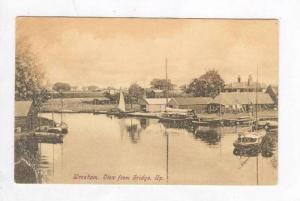 Wroxham. View from the bridge up, UK, Pu-1910
