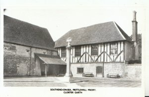 Essex Postcard - Southend-on-Sea - Prittlewell Priory - Cloister Garth - 16484A