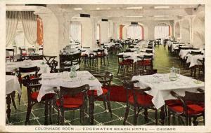 IL - Chicago. Edgewater Beach Hotel, Colonnade Room