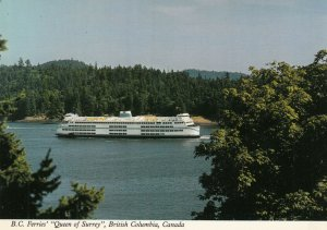 B.C. , Canada , 1960-80s ; Ferry M.V. QUEEN of SURREY