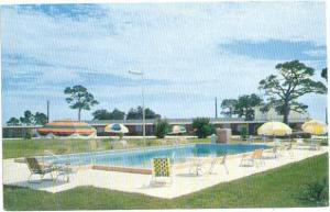 George's Motel U.S.89 4 miles south of Panacea Florida FL