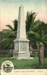hawaii, Captain Cook's Monument (1908) Aloha Nui