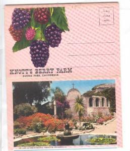 Floder , Knotts Berry Farm , Buena Park , California , 50-60s
