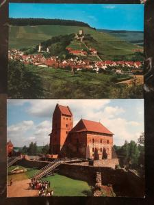 Mint Trakai Insular Castle Lithuania Two RPPC Postcards Lot MXE