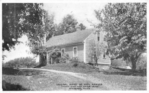Original Home of Mary Sawyer Sterling Junction, Massachusetts Postcard