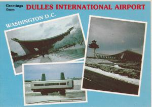 3-Views, Dulles International Airport, Washington, D.C., 1960-1970s