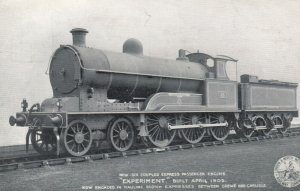 Express Passenger Engine EXPERIMENT , London & North Western Railway Compan...