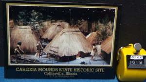 Continental Cahokia Mounds Diorama State Historic Site Collinsville Illinois