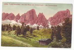Italy Tirol Alps Weg zum Grodner Joch Techlerspitzen PC