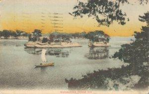 Japan Matsushima Inland Sea Hand Tinted 06.97