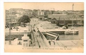 Saint-Nazaire , France , 00-10s ; Le Pont roulant et la Place du Bassin