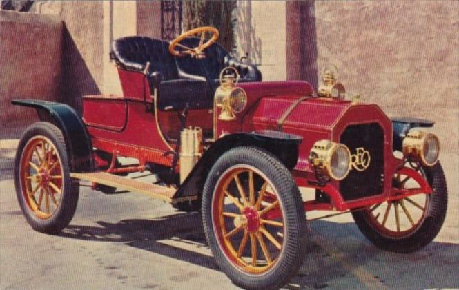 1908 Reo Bob Coyle Chevrolet San Jose California Hippostcard