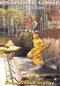 Prometheus Statue - Rockefeller Ceenter, New York City