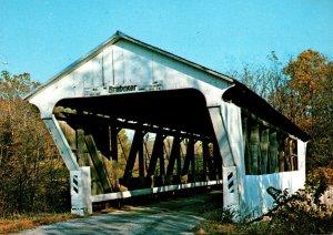 Ohio Preble County Brubaker Covered Bridge Over Sam's Run