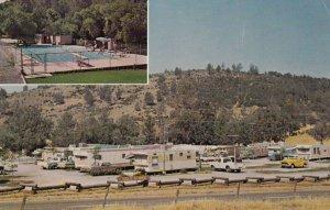 SAN ANDREAS , California , 1950-60s ; Resort-Trailer Park