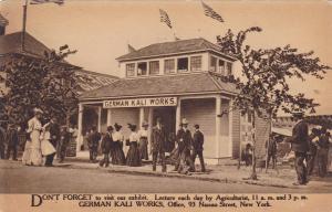 SYRACUSE, New York, 1900-1910's; German Kali Works Exhibit