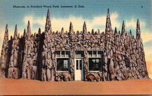South Dakota Lemmon Museum In Petrified Wood Park