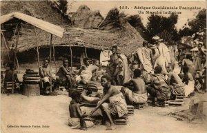 CPA AK Un Marché Indigene - Folklore SENEGAL (778577)