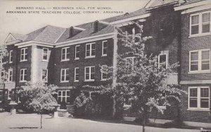 Arkansas Conway Bernard Hall Residence Hall For Women Arkansas State Teachers...