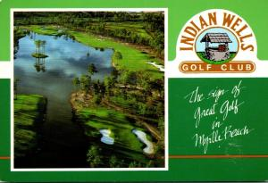 South Carolina Myrtle Beach Indian Wells Golf Club 1989