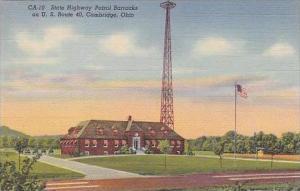 Ohio Cambridge State Highway Patrol Barracks Curteich