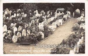 Dogs Cemetery Hyde Park, London Postcard Post Card Hyde Park, London Dogs Cem...