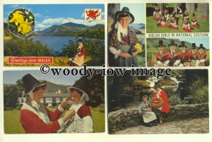eth02 - 36 Ethnic - People - Welsh Ladies in National Costume postcards