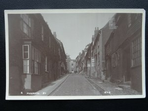 East Sussex RYE Mermaid Street - Old RP Postcard
