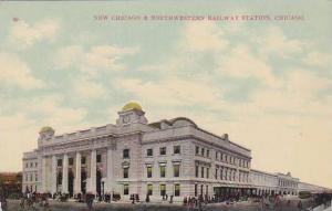 Exterior, New Chicago & Northwestern Railway Station,Chicago,Illinois,00-10s