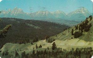 Hi-ways into JACKSON HOLE , Wyoming , 1960