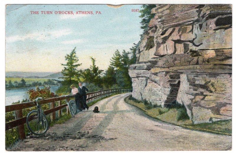 Athens, Pa, The Turn O'Rocks