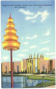 California Host Building Golden Gate International Exposition San Francisco CA
