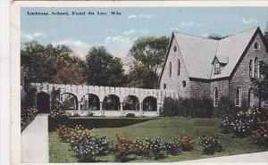 Wisconsin Fond Du Lac - Ambrose School