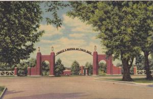 Entrance to Francis E.Warren Air Force Base, Cheyenne, Wyoming,30-40s