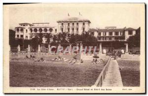 Postcard Old Bandol Grand Hotel and Hotel des Bains