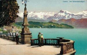 Switzerland Luzern am Schweizerhofquai 03.18