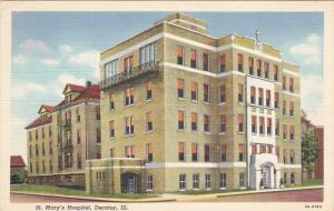St Mary's Hospital , DECATUR , Illinois , 30-40s