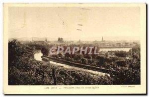 Old Postcard Metz Panorama Prize De Saint Julien