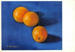 Art Postcard, Oranges (1972) by Ludwig Schwerin BA1