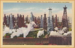 Long Beach, Calif., Signal Hill Oil District -