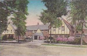 Michigan St Clair St Clair Inn Handcolored Albertype