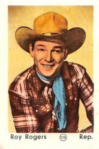 Movie Star Roy Rogers, cowboy hat, actor