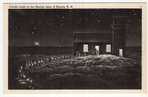 Isles of Shoals, N.H., Candle Light at the Shoals