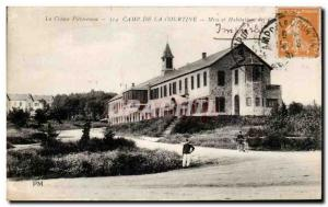 Old Postcard Camp De La Courtine houses and Army Mess