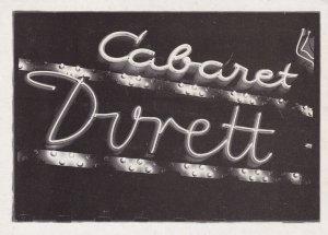 Cabaret Durett, Berlin,1950-60s