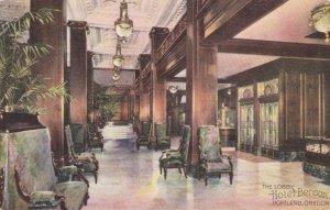 Oregon Portland Hotel Benson Lobby Interior sk401