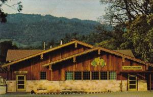 California Asti Exterior View Of Tasting Room Of The Italian Swiss Colony Winery